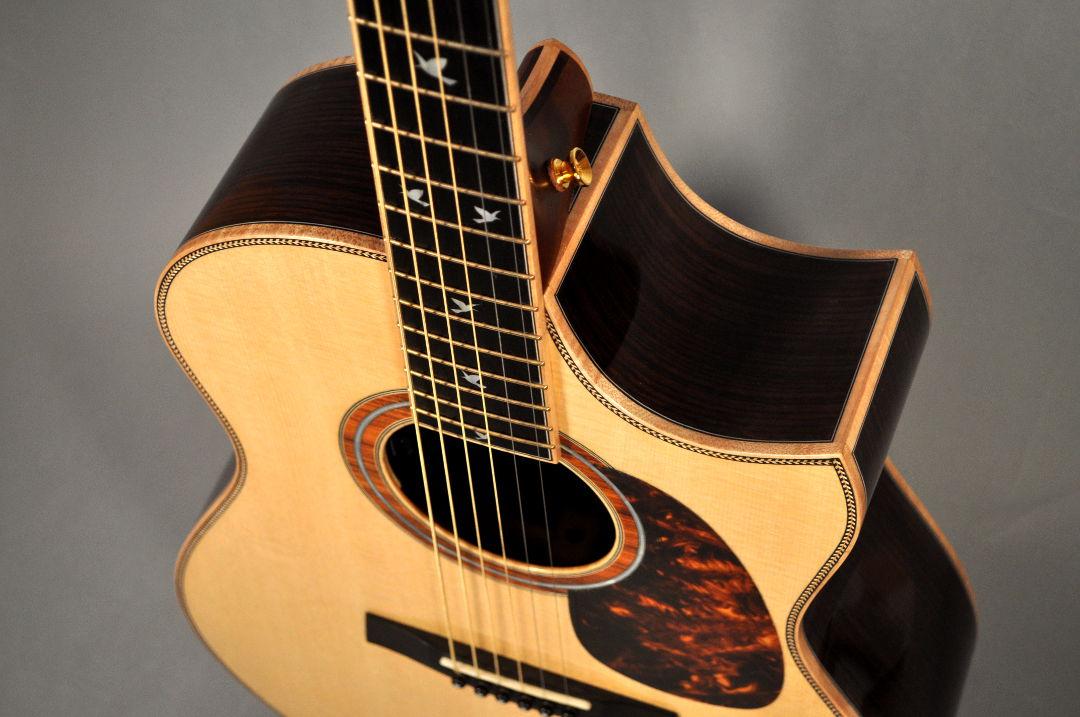 East Indian Rosewood Cutaway Guitar
