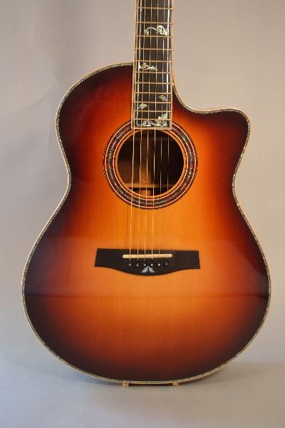 Sunburst with Vine Inlays