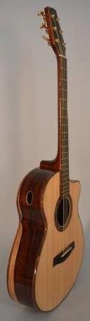 OM Cocobolo Lutz OM Cutaway McNeill Guitar