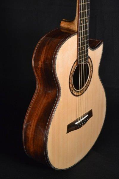 Custom OM Granadillo - Lutz McNeill Guitar