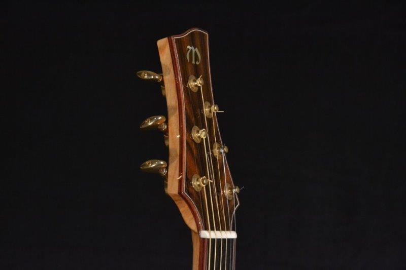 Custom OM Granadillo Lutz McNeill Guitar